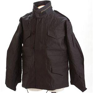 HOUSTON(ヒューストン) ショートM-65ジャケット ブラック XL