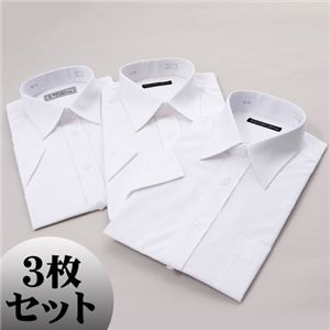 半袖 ワイシャツ3枚セット M 【 3点お得セット 】  f04