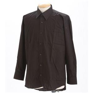 チョイワルBLACKシャツネクタイセット チャ L