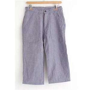 アメリカ海軍 (米軍 )レプリカ七分丈パンツ ブルーサイズ 30(75cm)