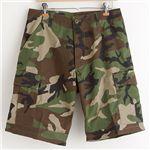 アメリカ軍 BDU カーゴショートパンツ/迷彩服パンツ【XLサイズ】 ウッドランド【レプリカ】