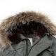 【メンズ】 HOUSTON(ヒューストン) N-3Bジャケット リアルラクーンファー セージ L - 縮小画像6