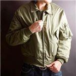 【メンズ】 米軍放出 -10度対応ノメックスジャケット オリーブ SMALL-SHORT