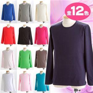 ユニセックス長袖 Tシャツ XL ナチュラル h02