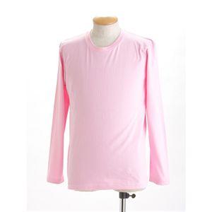 ユニセックス長袖 Tシャツ L ピンク