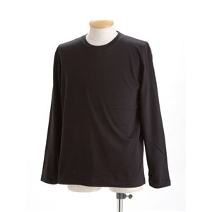 ユニセックス長袖 Tシャツ L ブラック