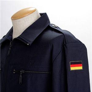 ドイツ海軍放出 デッキジャケットデットストック ネイビー L