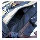 大型バックバック【パラシュート素材】 50L ブラック 写真4