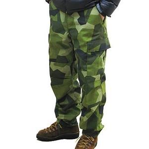 スェーデン軍 U90カモフラージュパンツ(迷彩ズボン) レプリカ Sサイズ - 拡大画像