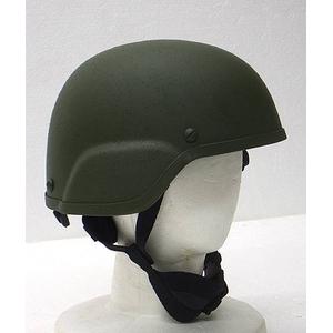 MICH2000 グラスファイバーヘルメット レプリカ オリーブ - 拡大画像