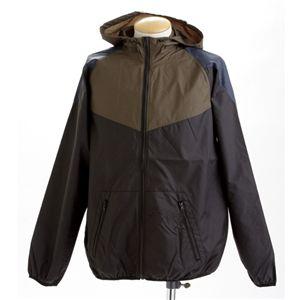 切替えデザインスイッチングジャケット M ブラック - 拡大画像