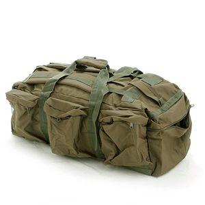 米軍防水布シーサックコンバットバッグレプリカ オリーブ - 拡大画像