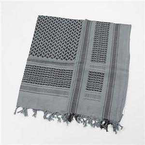 綿100%アラブスカーデッドストック ブルー×ブラック