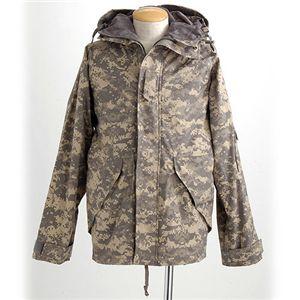 アメリカ軍ECWCS-1ジャケット復刻版 MM-10411 ACUカモ Lサイズ(日本サイズXL) - 拡大画像