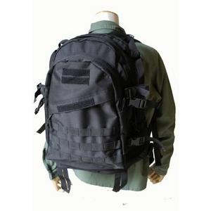 防水布使用米軍 A-3モール対応リュックレプリカ ブラック - 拡大画像