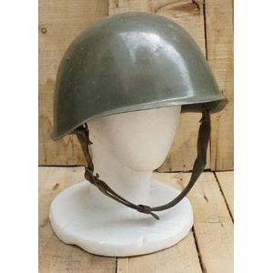 チェコ軍放出 M52スチールヘルメット 中古 - 拡大画像