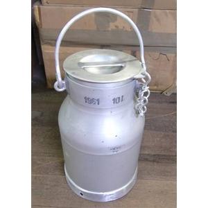 スウェーデン軍放出 ミルク缶10リッター【中古】 - 拡大画像