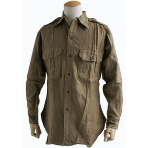 イタリア軍放出 40sウールシャツデットストック 《14》