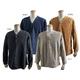 ブルガリア軍放出 1950sグランパシャツ 長袖染4色 デットストック ネイビー XL相当 - 縮小画像1