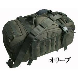 米軍防水布使用4WAYシーサックレプリカ オリーブ - 拡大画像