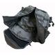 米軍防水布使用3DAY中央ジッパーリュックサック ブラック - 縮小画像6