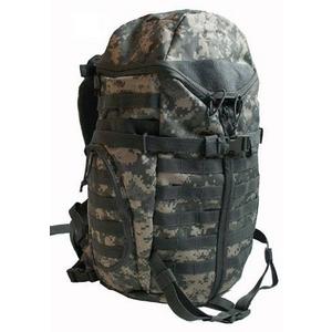 米軍 防水布使用3DAY中央ジッパーリュックサック ACU - 拡大画像