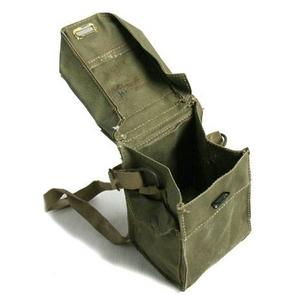 イギリス軍 放出 MK2ガスマスクバッグ【中古】
