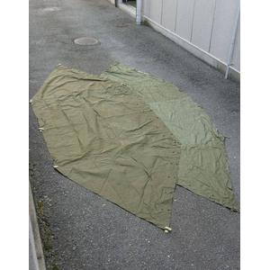 アメリカ軍放出綿キャンパステントシートデットストック - 拡大画像