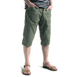 ベルギー軍タイプ1952,S7部丈パンツ復刻番 オリーブ 【サイズ5】