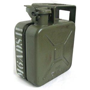 チェコ軍放出 ガソリン缶 5リッター 【中古】