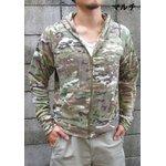 米軍 タクティカルフリースパーカー マルチ M 【 復刻判 】