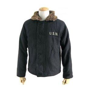 ハイクオリティに感動★米軍N-1 DECK ジャケット ブラック 36(M)サイズ【レプリカ】