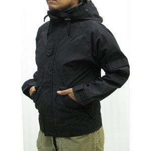 アメリカ軍ECWCS-1ジャケット復刻版 MM-10411 ブラック Sサイズ (日本サイズM)  - 拡大画像
