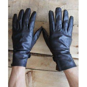 フランス軍放出 ワークレザーグローブ/牛革手袋 【 7.5サイズ 】 GG031NN 〔未使用/デッドストック〕 - 拡大画像