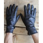 フランス軍放出 ワークレザーグローブ/牛革手袋 【 7.5サイズ 】 GG031NN 〔未使用/デッドストック〕