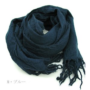 スイス軍放出 スカーフ E M007UD M ブルー 【 デットストック 】 【 未使用 】