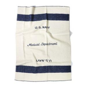 アメリカ海軍(米軍) 医療部 ウールブランケット EE265YN スモール 【レプリカ】 - 拡大画像