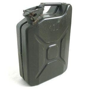 チェコ軍放出 ガソリン缶 B X064UN 10リッター 【中古】