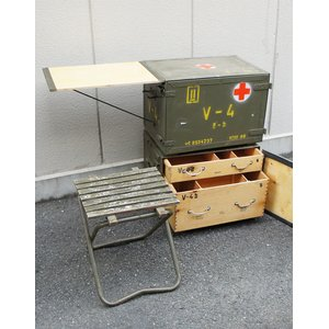 チェコ軍放出 メディカルボックス BX029UN 【中古】 - 拡大画像