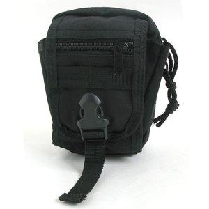 多機能 MO LLEバッグ 対応防水布使用ポーチ BP062YN ブラック - 拡大画像