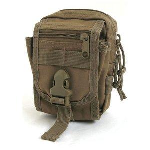 多機能MOLLEバッグ対応防水布使用ポーチBP062YNコヨーテブラウン