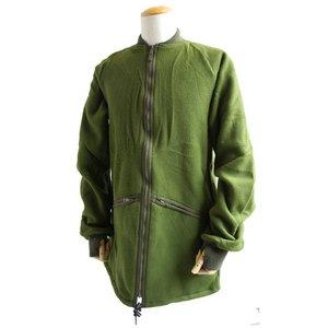 イギリス軍放出 フリースジャケット JJ074NN オリーブ 96 【デットストック】 【未使用】 - 拡大画像