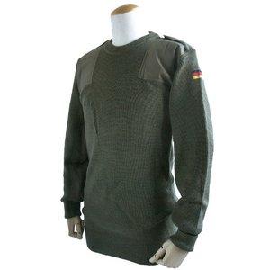 ドイツ軍放出 BWウールコマンドセーター JW016NN オリーブ 48( L) 【 デットストック 】 【 未使用 】