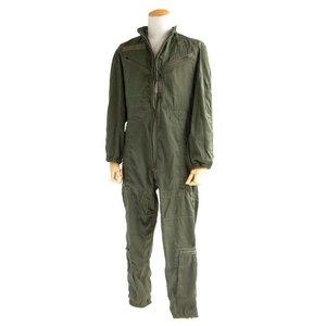 【訳あり・在庫処分】フランス軍放出 AFパイロットカバーオール CC027UN オリーブ 92 【中古】の画像1