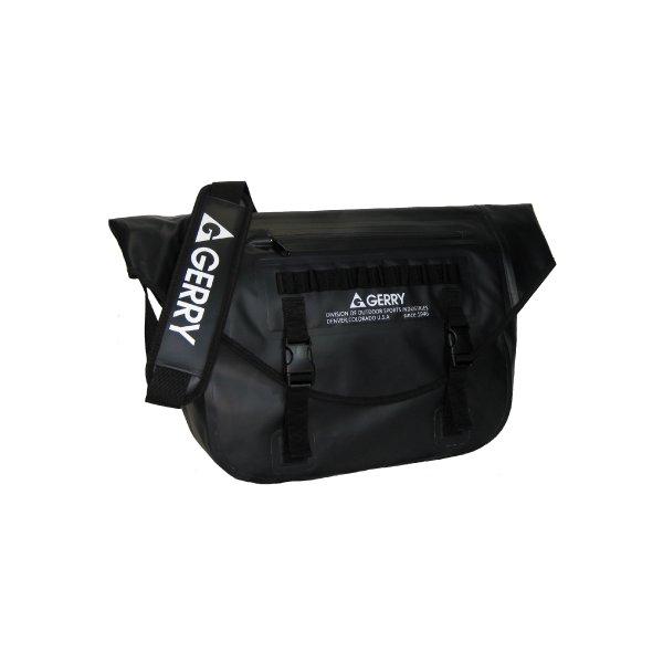 GERRY 超軽量完全防水メッセンジャーバッグ GE5005 ブラックf00