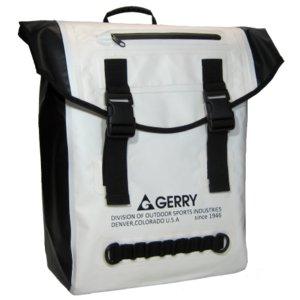 GERRY  超軽量完全防水バックバック  GE5010  ホワイト - 拡大画像