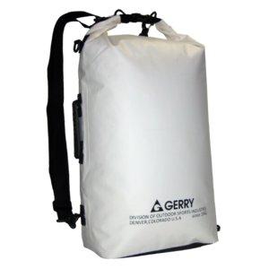 GERRY  超軽量完全防水ドライバック GE5012  ホワイト - 拡大画像