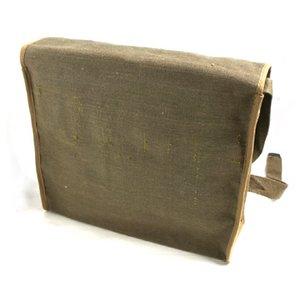 イタリア軍放出 WW2 キャンバスショルダーバッグ B S117NN カーキ 【 デットストック 】 【 未使用 】