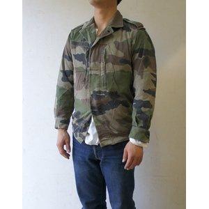 フランス軍放出 F2ジャケット JJ004UNW L CCE カモフラージュ( 迷彩) 104( L相当) 【中古】