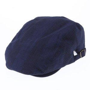 纏(まとい)織ハンティング 144-1905 紺 - 拡大画像